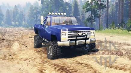 Chevrolet K20 for Spin Tires