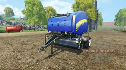 New Holland Roll-Belt 150 blue for Farming Simulator 2015