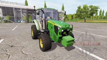 John Deere 5130M v2.5 for Farming Simulator 2017