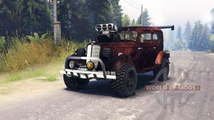 GAZ M1 v1.1 for Spin Tires