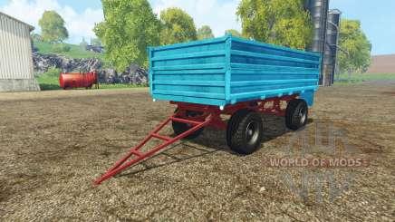 Tractor trailer v2.0 for Farming Simulator 2015