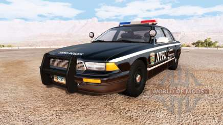 Gavril Grand Marshall NYPD v2.0 for BeamNG Drive