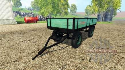 Tractor tipper trailer for Farming Simulator 2015