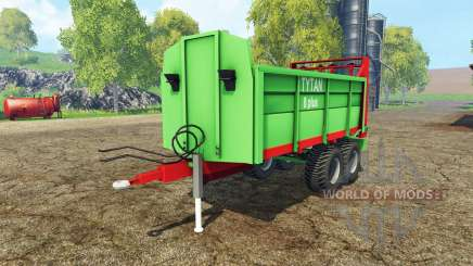 Unia Tytan 8 plus for Farming Simulator 2015