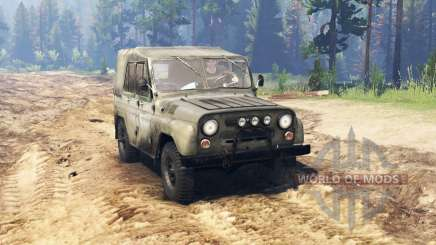 UAZ 469 for Spin Tires