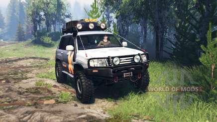 Toyota Land Cruiser 105 v4.0 for Spin Tires