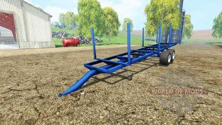 Log Trailer autoload for Farming Simulator 2015