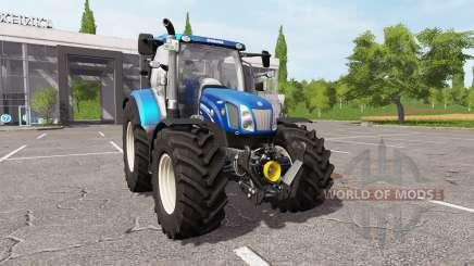 New Holland T6.150 for Farming Simulator 2017