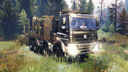 Tatra Phoenix T 158 8x8 v10.0 for Spin Tires