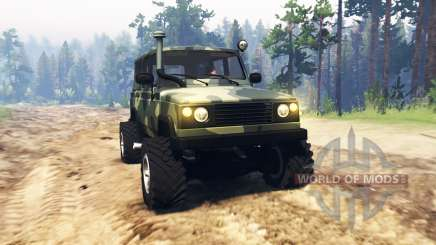 UAZ 3172 Scout for Spin Tires