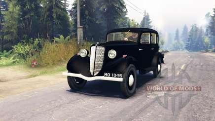 GAZ M1 for Spin Tires