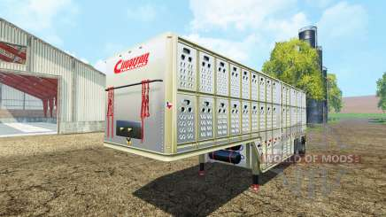 Cimarron livestock Trailer v0.9b for Farming Simulator 2015