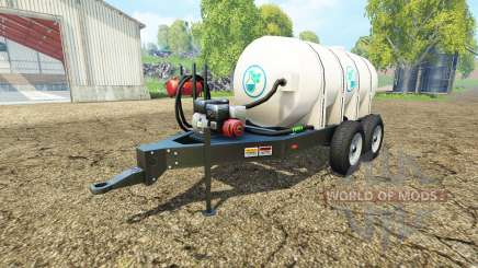 Lizard fertilizer trailer v1.1 for Farming Simulator 2015