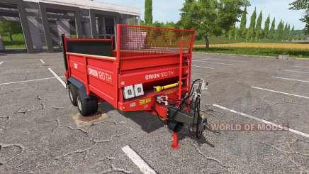 SIP Orion 120 TH for Farming Simulator 2017