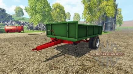 Tractor trailer v1.1 for Farming Simulator 2015