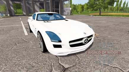 Mercedes-Benz SLS 63 AMG for Farming Simulator 2017
