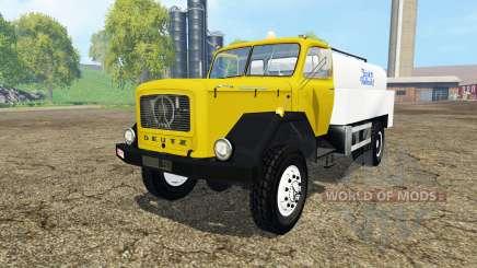 Magirus-Deutz 200D26 1964 milk for Farming Simulator 2015