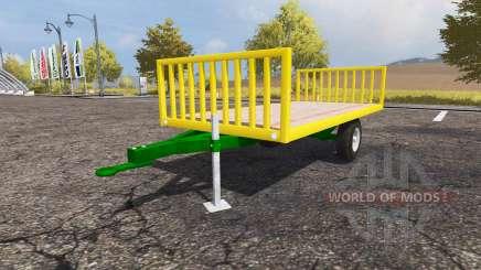 Bale trailer for Farming Simulator 2013