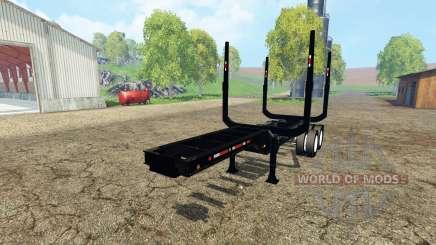 Logging semitrailer for Farming Simulator 2015