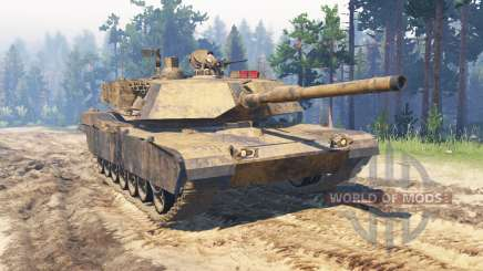 M1 Abrams for Spin Tires