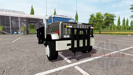 GMC 9500 utility for Farming Simulator 2017