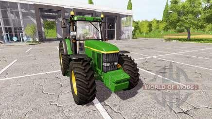 John Deere 7810 v2.0 for Farming Simulator 2017