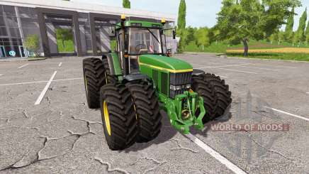 John Deere 7710 v1.5 for Farming Simulator 2017