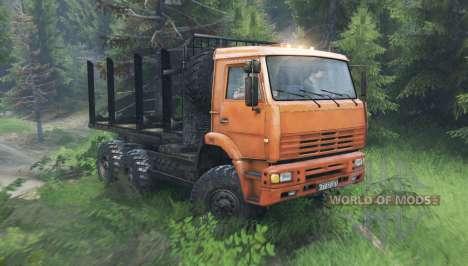KamAZ 6522 v10.0 for Spin Tires