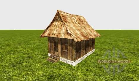 Wood house for Farming Simulator 2015
