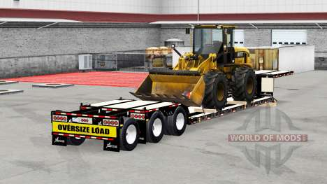 Low sweep XL 90 MDE with loads v5.0 for American Truck Simulator