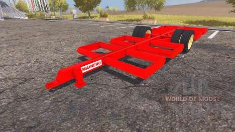 Mainero bale trailer for Farming Simulator 2013