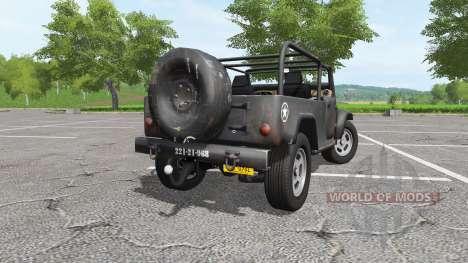 Jeep Wrangler for Farming Simulator 2017