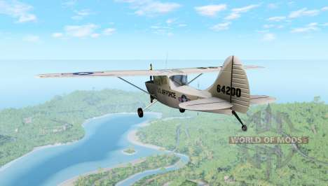 Cessna L19 for BeamNG Drive
