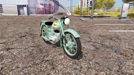 BSA Bantam D1 for Farming Simulator 2013