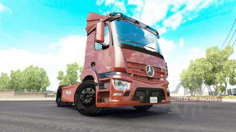 Mercedes-Benz Antos 1840 for American Truck Simulator