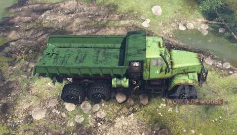 KrAZ 255B for Spin Tires