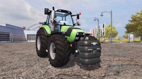 Weight Deutz-Fahr for Farming Simulator 2013