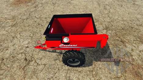 Cestari field transfer trailer for Farming Simulator 2015