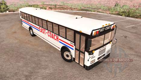 Dansworth D2500 (Type-D) east-coach v1.1 for BeamNG Drive