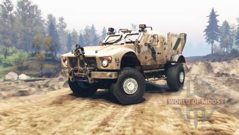 Oshkosh M-ATV for Spin Tires
