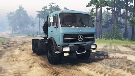 Mercedes-Benz NG for Spin Tires