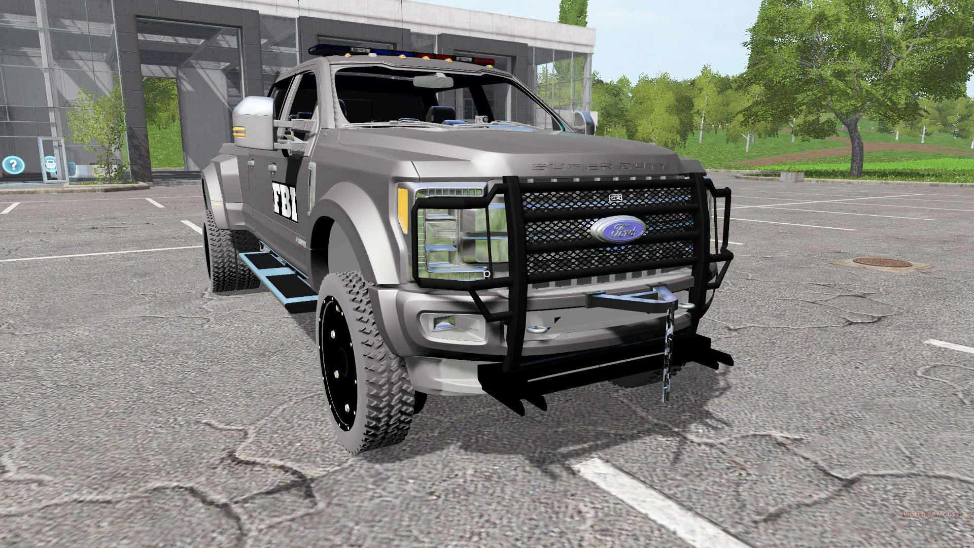 Ford F 450 Fbi For Farming Simulator 2017