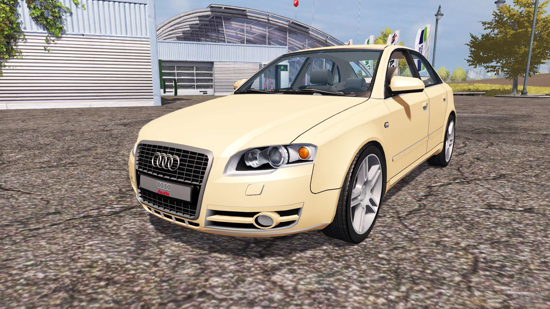 audi a4 3 0 tdi quattro b7 for farming simulator 2013. Black Bedroom Furniture Sets. Home Design Ideas