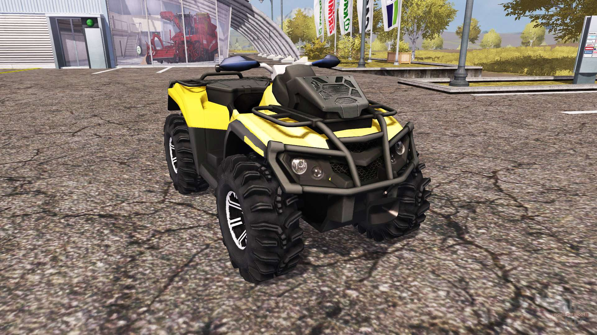can am outlander 1000 xt for farming simulator 2013. Black Bedroom Furniture Sets. Home Design Ideas