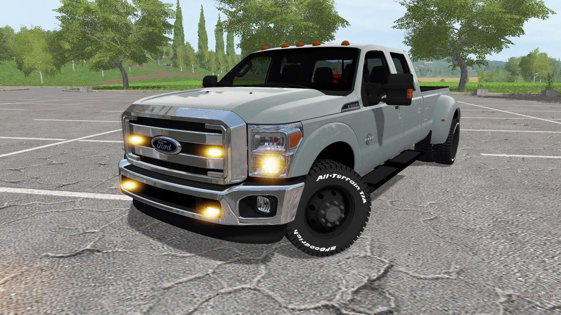 ford f 350 super duty for farming simulator 2017. Black Bedroom Furniture Sets. Home Design Ideas