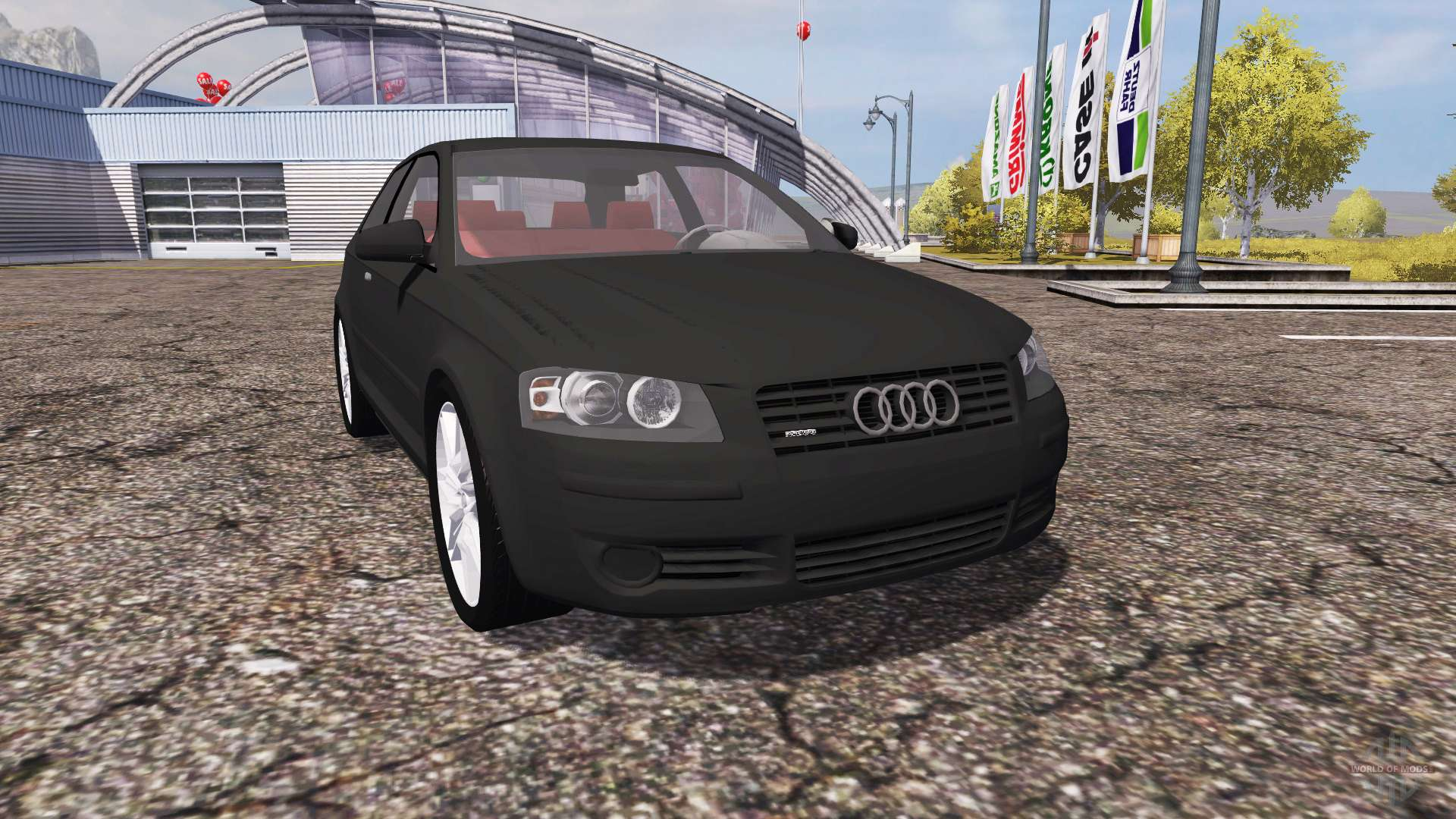 audi a3 quattro 8l for farming simulator 2013. Black Bedroom Furniture Sets. Home Design Ideas