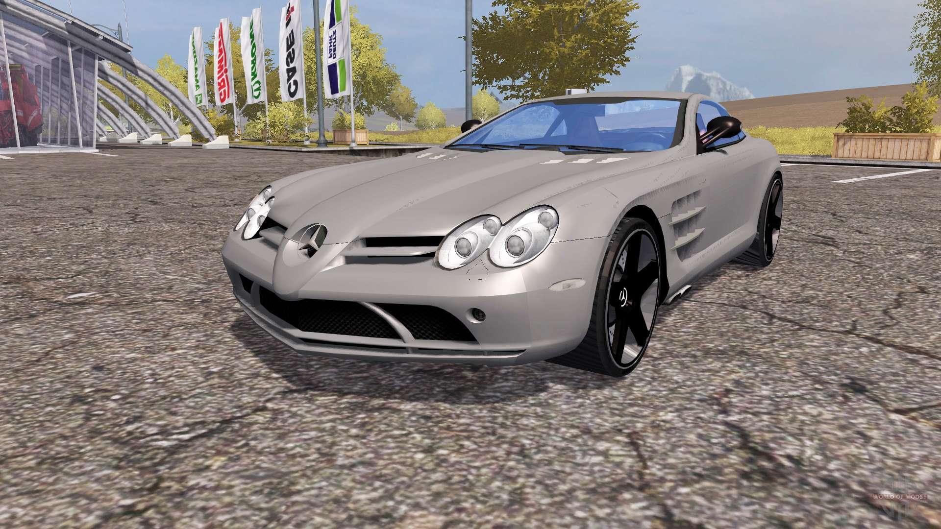 Mercedes benz slr mclaren c199 v2 0 for farming for Mercedes benz games