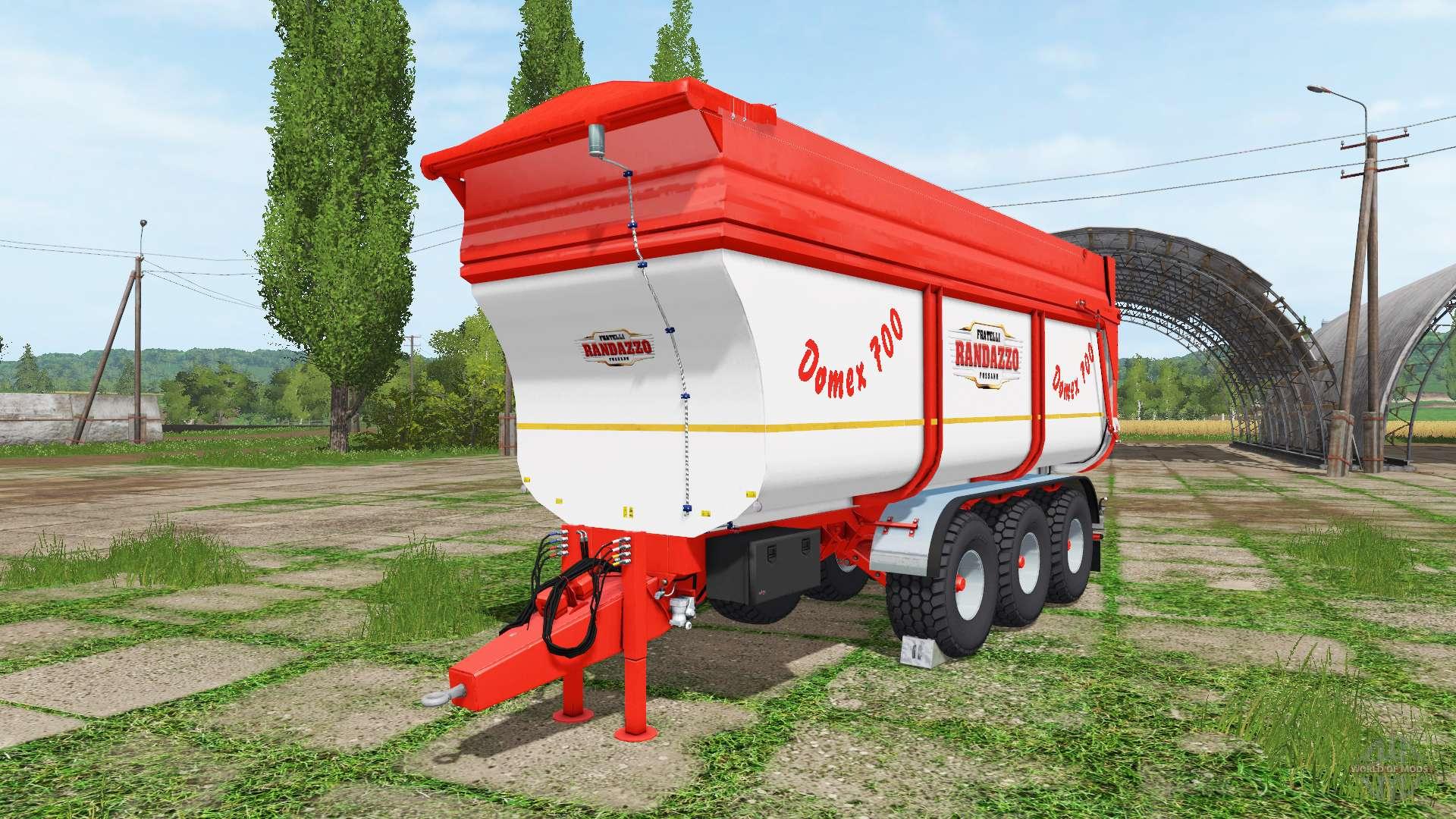 Rimorchi randazzo tr70 v1 0 1 4 for farming simulator 2017 for Rimorchi randazzo