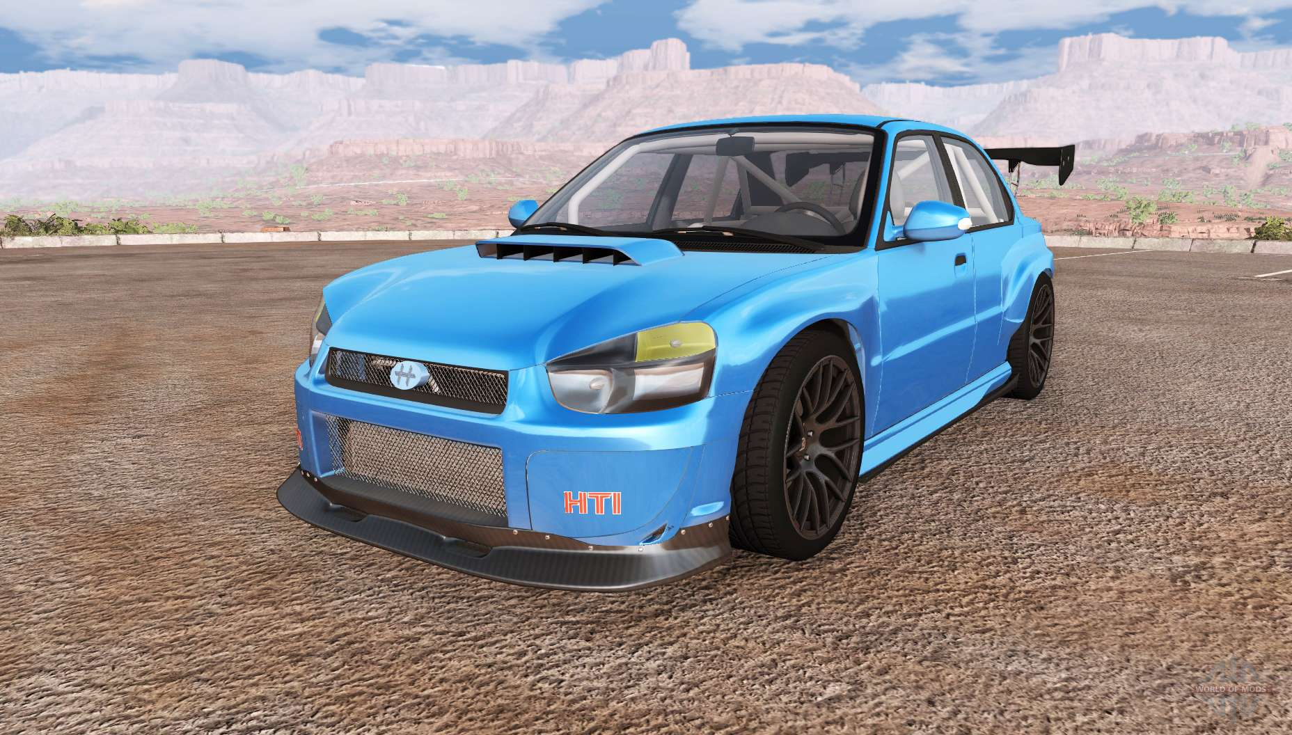 Dr Car: Hirochi Sunburst Facelift V0.31 For BeamNG Drive