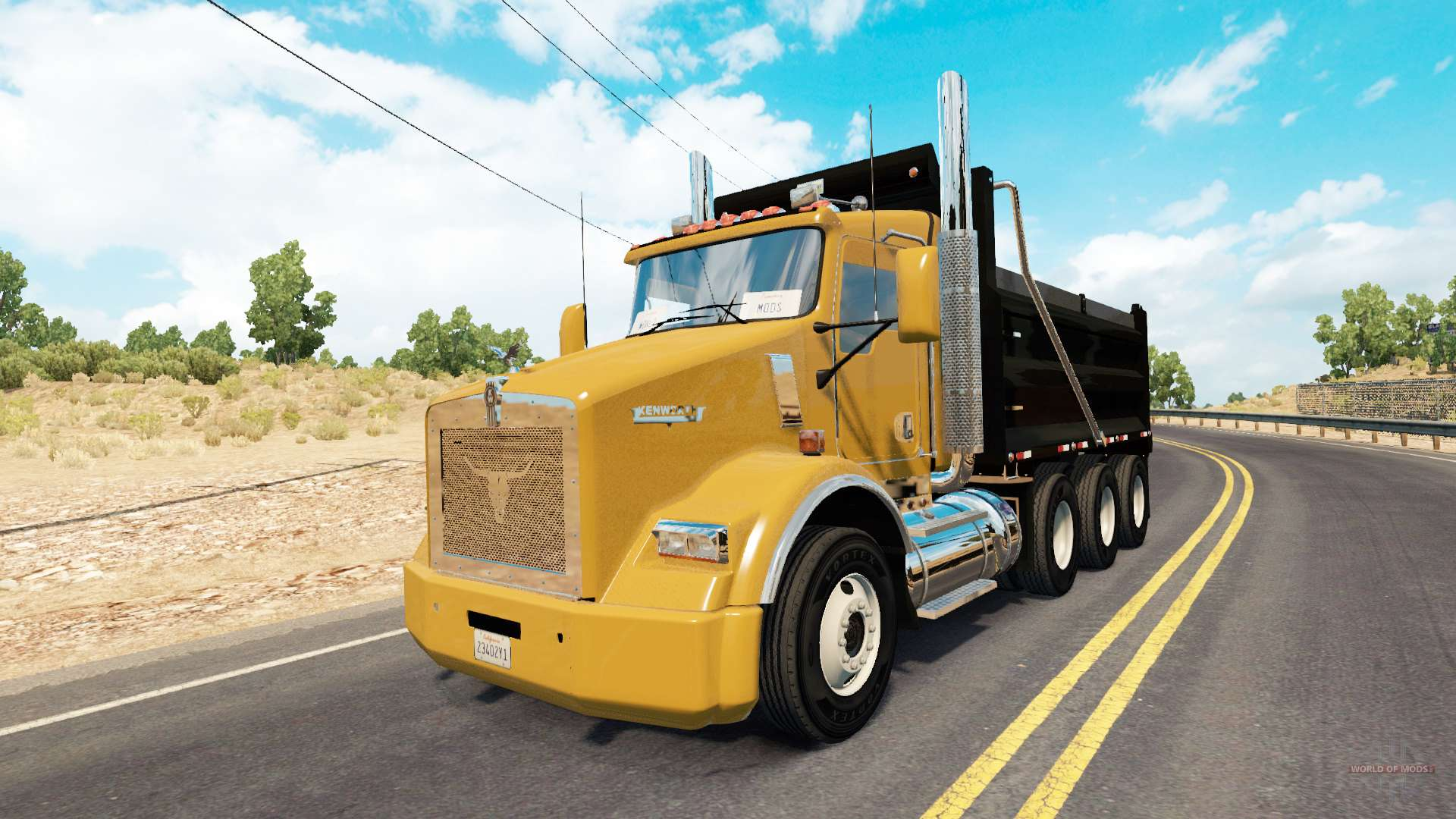 Armored Truck For Sale >> Kenworth T800 dump for American Truck Simulator